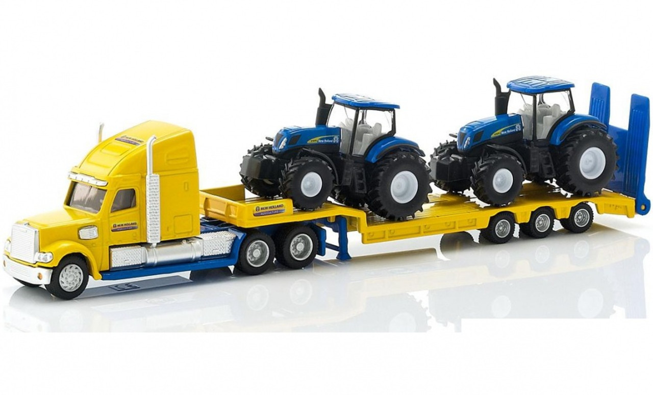 Truck 2 New Holland Tractor