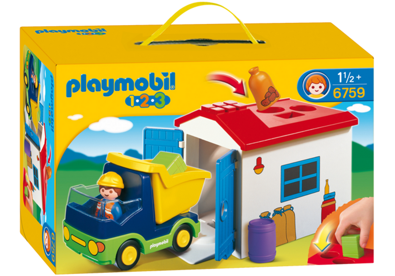 Garage Playmobil 1 2 3
