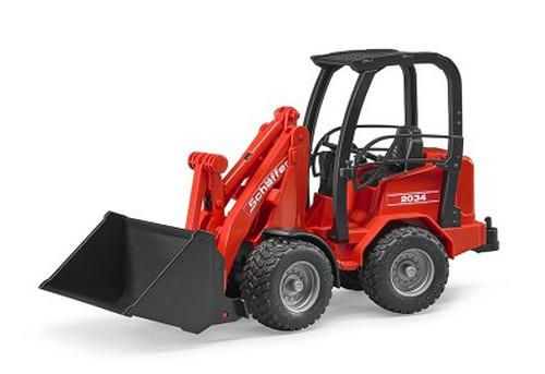 Elektrisches Spielzeug BRUDER Mechanical shovel Schaeffer