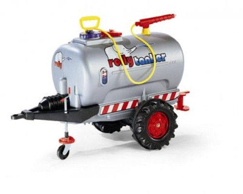 Rolly Silver Single Axle Tanker with Pump (12277)
