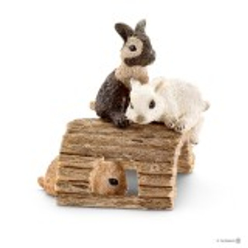 Schleich Baby Rabbits Playing (13748)