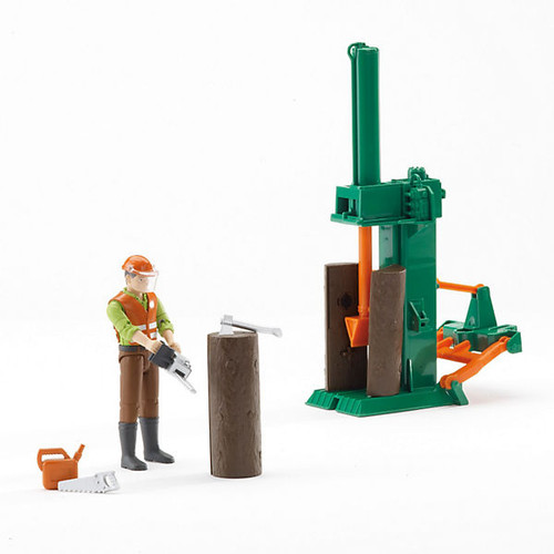 Bruder bWorld Forestry Set with Figure (62650)