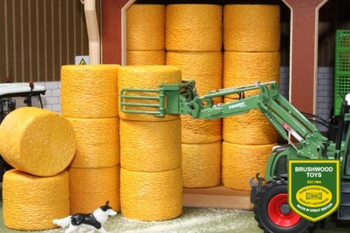 Brushwood 15 Authentic Round Hay Bales (BT2080)