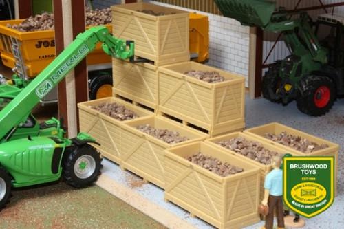 Brushwood 8 Potato Boxes with 250g Bulk Potatoes (BT2079)