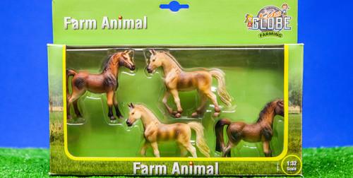 Kids Globe 4 Horses (0013)