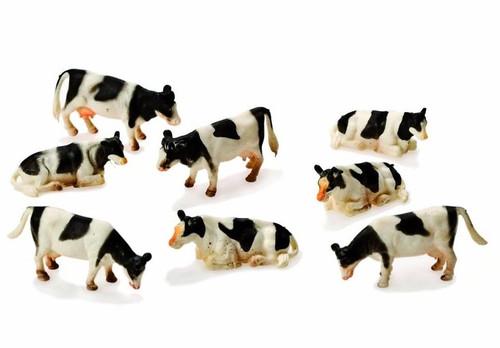 Kids Globe 1:87 Mini 8 Pack Cows (1878)
