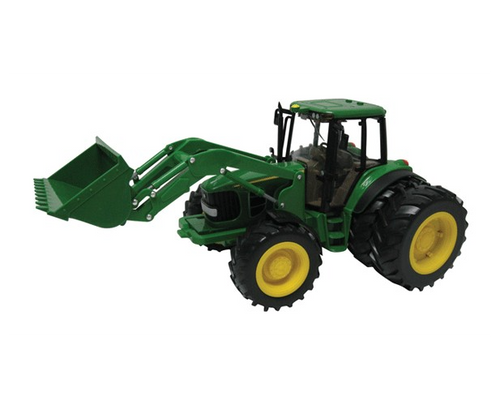 Britains Big Farm John Deere 6830 Tractor With Dual Wheels + Font Loader (42425)