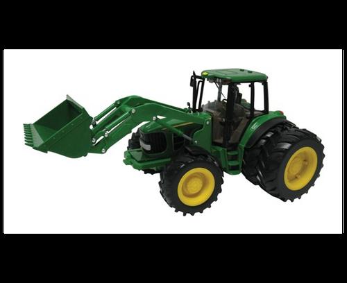 Britains Big Farm John Deere 6830 Tractor With Dual Wheels + Font Loader (42425)