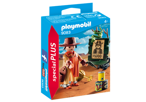 Playmobil Special Plus Cowboy with Wanted Poster (9083)