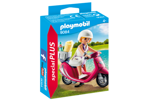 Playmobil Special Plus Beachgoer with Scooter (9084)