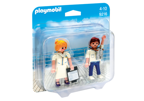 Playmobil Collectable Cruise Ship Officers (9216)