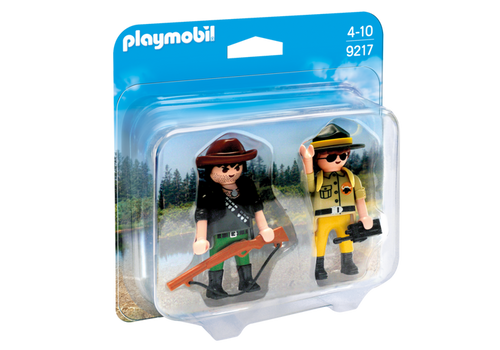 Playmobil Collectable Ranger and Hunter (9217)