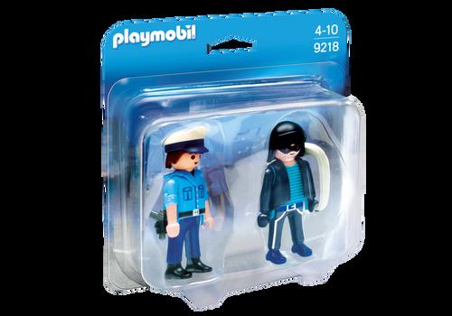 Playmobil Policeman and Burglar (9218)