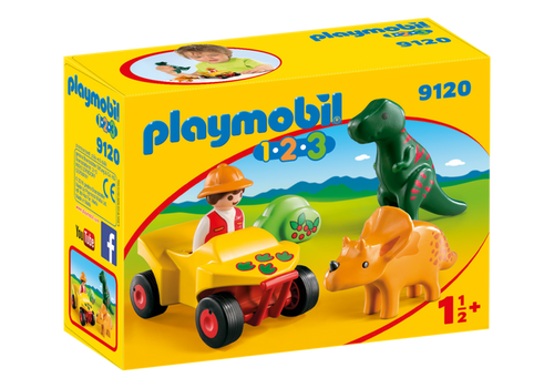 Plamyobil 1.2.3 Explorer with Dinos (9120)