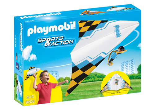 Playmobil Outdoor Action Yellow Hang Glider (9206)