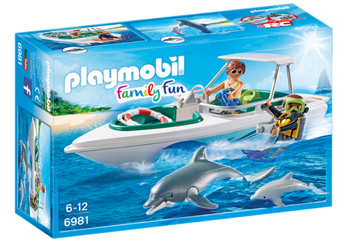 Playmobil Diving Trip with Speedboat (6981)