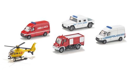SIKU Super 1:50 Gift Set - 5 Rescue Vehicles (6289)