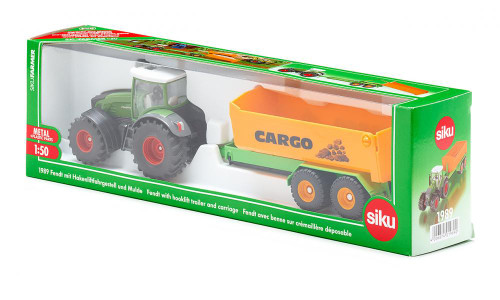 SIKU 1:50 Fendt Tractor with Cargo Trailer (1989)