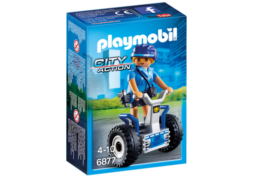 Playmobil City Action Policewoman with Balance Racer (6877)