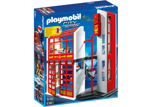 Playmobil City Action Fire Station with Ladder (5361)