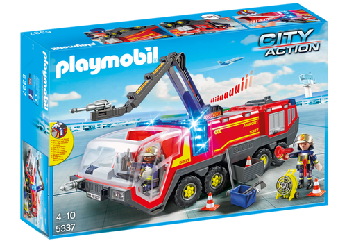 Playmobil Airport Fire Engine with Lights & Sounds (5337)