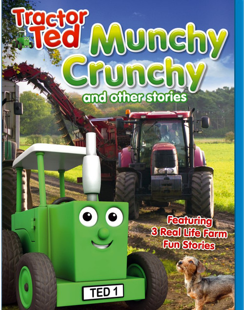 Tractor Ted Munchy Crunchy DVD
