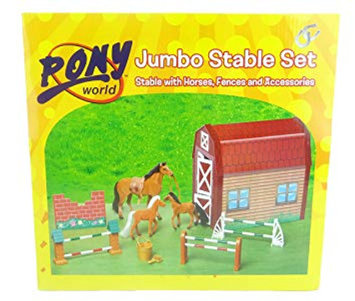 Pony World Jumbo Stable Set (90151)
