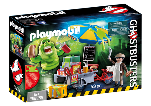 Playmobil Ghost Busters Slimer with Hot Dog Stand (9222)