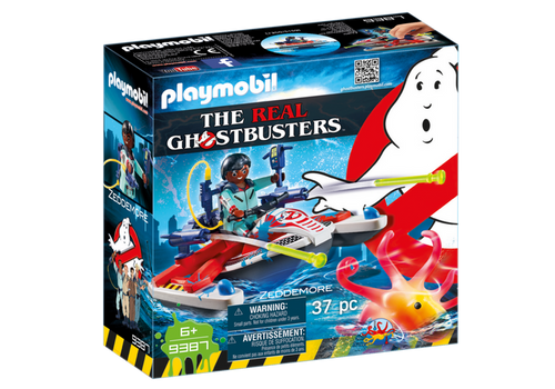 Playmobil Ghostbusters Zeddemore with Aqua Scooter (9387)