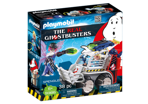 Playmobil Ghostbusters Spengler with Cage Car (9386)