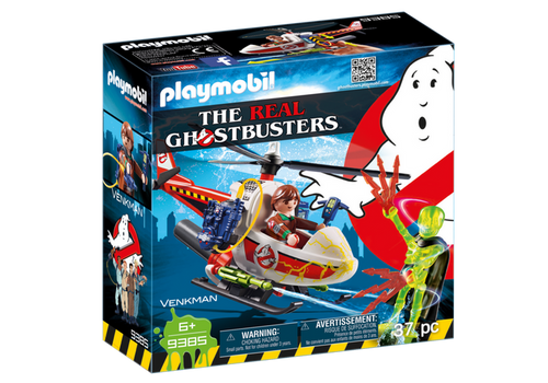 Playmobil Ghostbusters Venkman with Helicopter (9385)