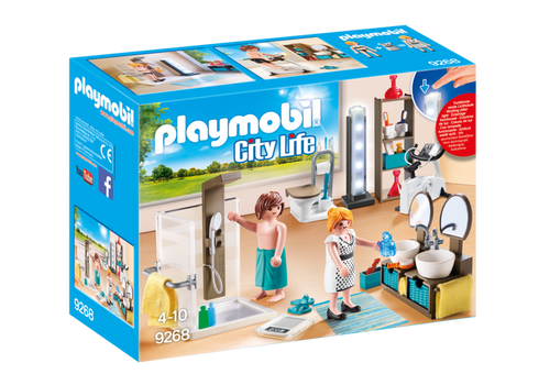 Playmobil City Life Bathroom (9268)