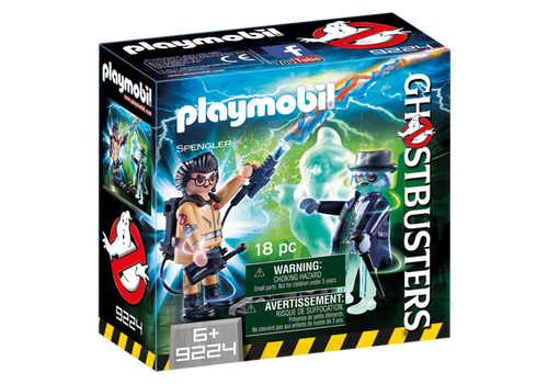 Playmobil Ghostbusters Spengler and Ghost (9224)