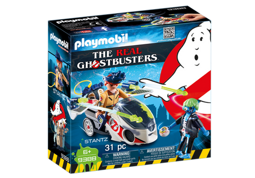 Playmobil Ghostbusters Stantz with Skybike (9388)