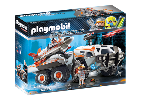 Playmobil Top Agents Spy Team Battle Truck (9255)