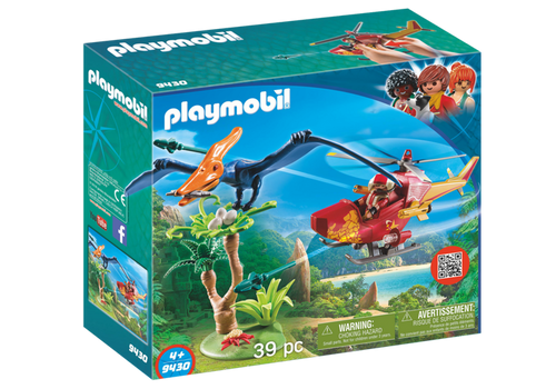 Playmobil Adventure Copter with Pterodactyl (9430)