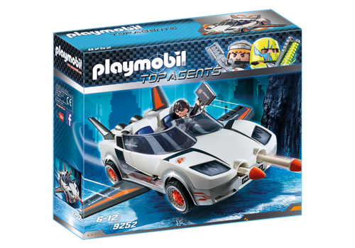 Playmobil Top Agents Agent P with Racer (9252)