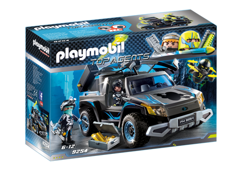 Playmobil Top Agents Dr Drone's Pick Up (9254)