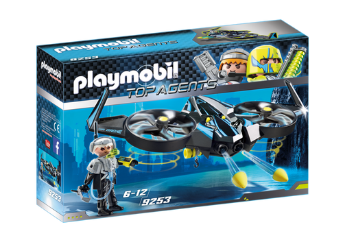 Playmobil Top Agents Mega Drone (9253)