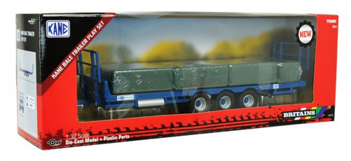Britains Kane Bale Trailer Play Set (43218)
