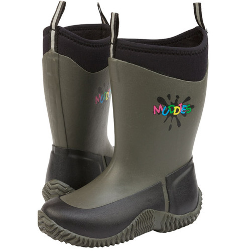 Kids Grubs Muddies Icicle Boots - Charcoal
