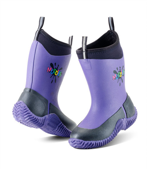 Kids Grubs Muddies Icicle Boots - Violet