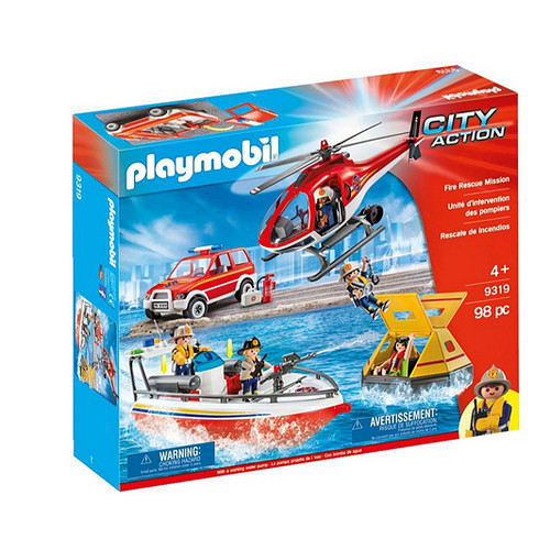 Playmobil City Action Fire Rescue Mission (9319)