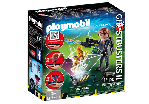 Playmobil Ghostbuster Peter Venkman (9347)