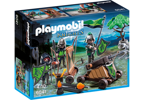 Playmobil Knights Wolf Knights with Catapult (6041)