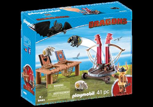 Playmobil Dragons Fishlegs and Meatlug (9460)