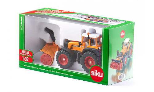Siku 1:32 Fendt with Snow Blower (3660)