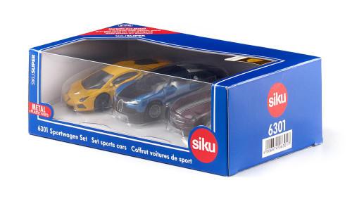 Siku Gift Set - 3 Sports Cars (6301)