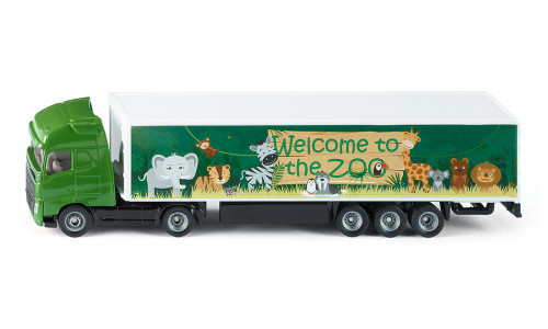 Siku 'Welcome to the Zoo' Truck and Trailer (1627)