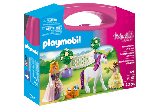 Playmobil Princess Unicorn Carry Case (70107)